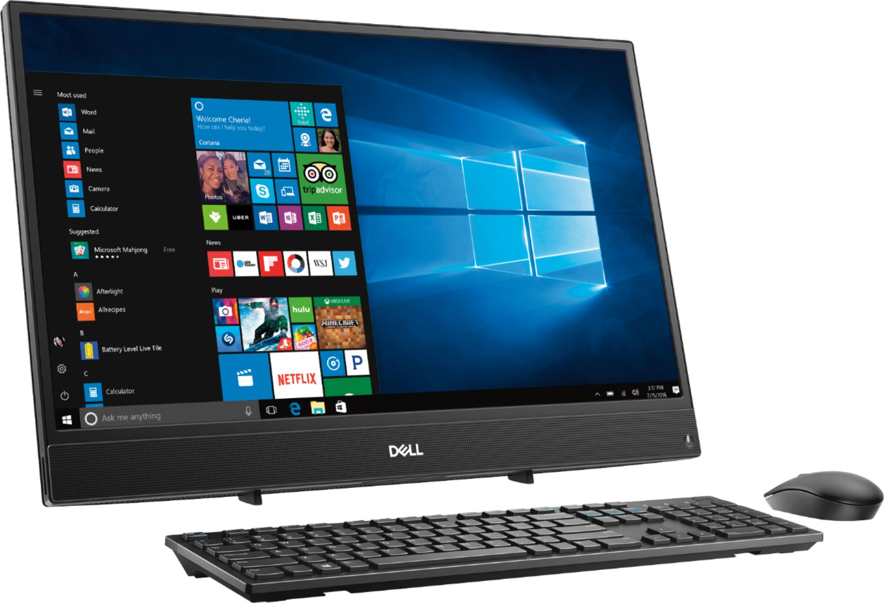 all in one Dell Inspiron One