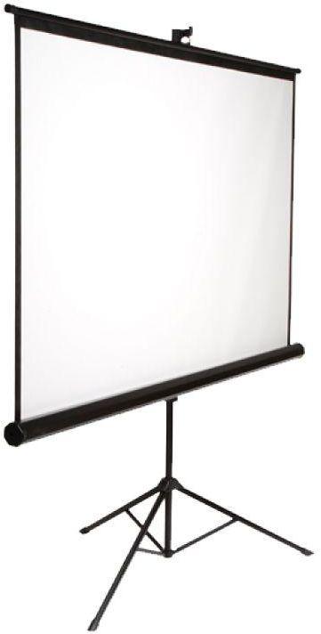 شاشة عرض على حامل ثلاثى قوى مقاس 185×185 سم